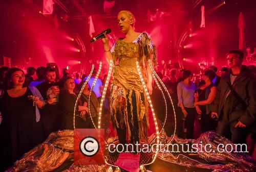 Charlotte Church stuns with futuristic spectacular