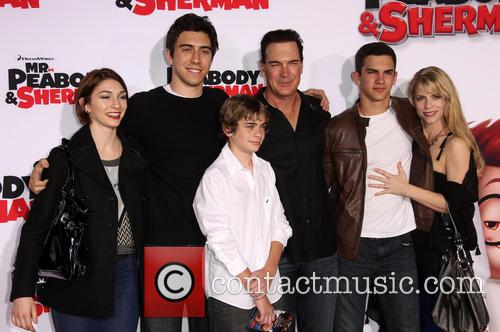 Patrick Warburton, Cathy Jennings and Family 4