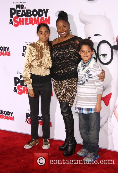 Shar Jackson, Cassilay Monique Jackson and Donovan Jackson 2