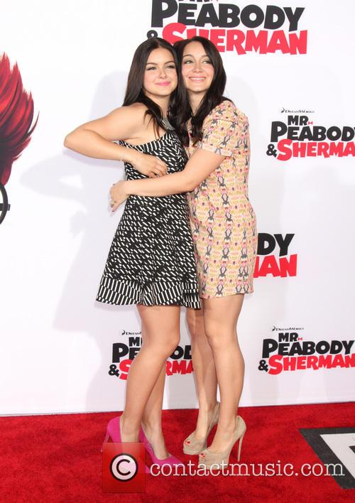 Ariel Winter and Shanelle Workman 2
