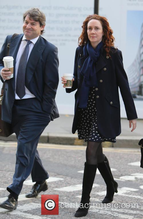 Andy Coulson, Rebekah and Charlie Brooks 3