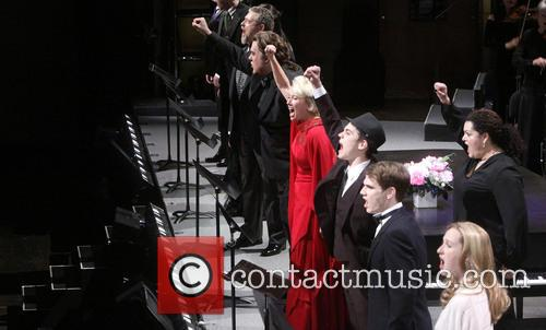 Philip Quast, Bryn Terfel, Emma Thompson, Kyle Brenn, Jay Armstrong Johnson and Erin Mackey