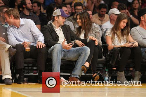 Ashton Kutcher and Mila Kunis 8