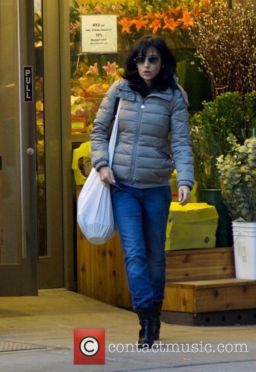 Hilaria Baldwin Shopping In East Village