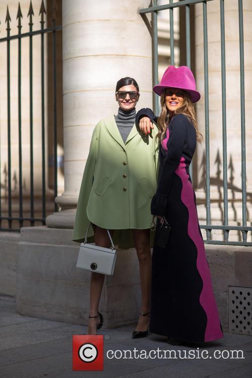 Anna Dello Russo and Giovanna Battaglia 1