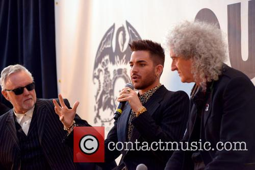 Roger Taylor, Adam Lambert and Brian May 3