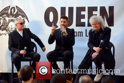 Roger Taylor, Adam Lambert, Brian May and Queen 5