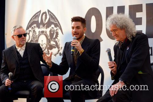 Roger Taylor, Adam Lambert, Brian May and Queen 9