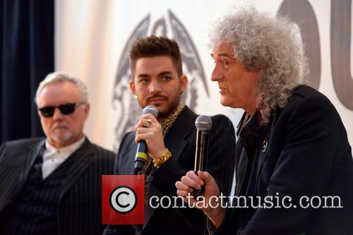 Roger Taylor, Adam Lambert, Brian May and Queen 10