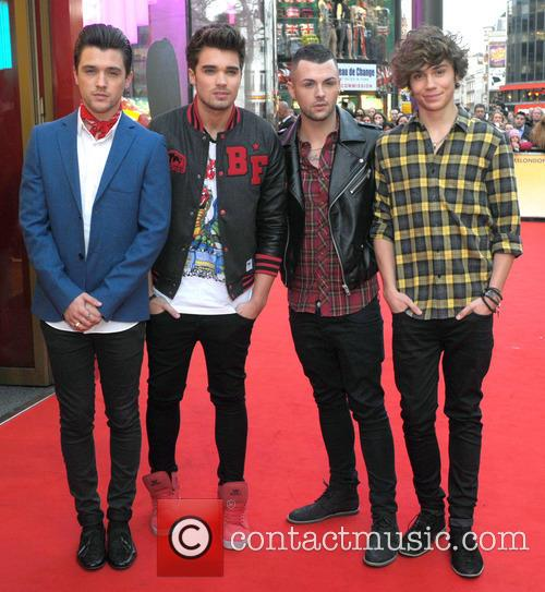 Union J host a party to launch their...