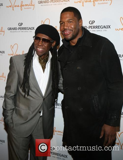 Nile Rodgers and Michael Strahan 9