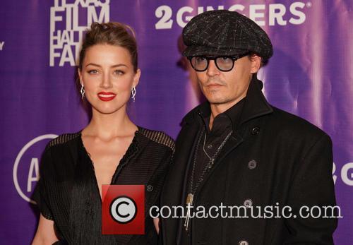 Johnny Depp and fiancee Amber Heard