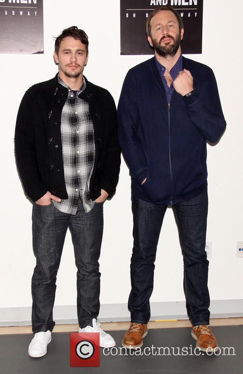 James Franco and Chris O'dowd 7