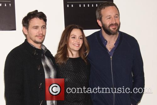 James Franco, Leighton Meester and Chris O'dowd 4