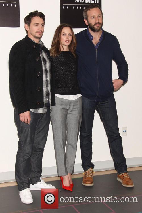 James Franco, Leighton Meester and Chris O'dowd 8