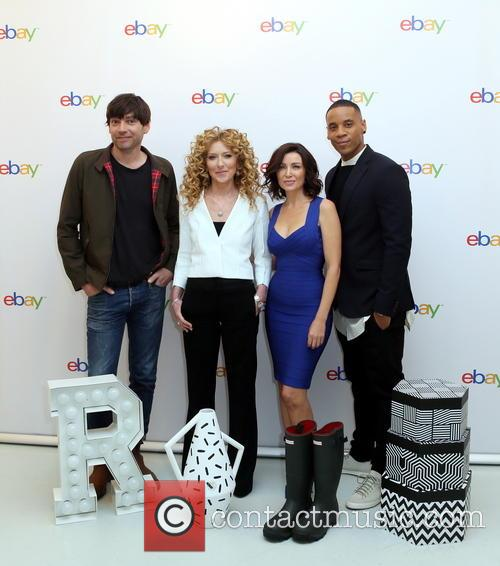 Alex James, Kelly Hoppen, Dannii Minogue and Reggie Yates 2