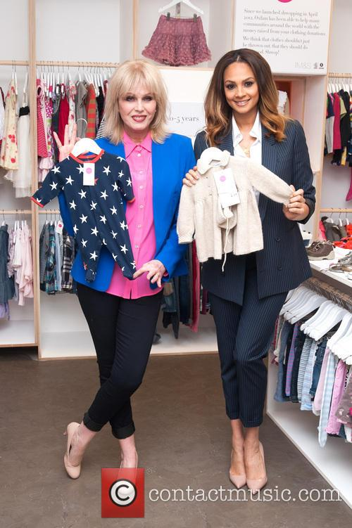 Joanna Lumley and Alesha Dixon 10