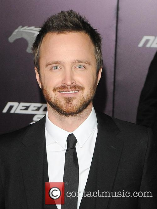 Aaron Paul is currently starring in 'Need for Speed'