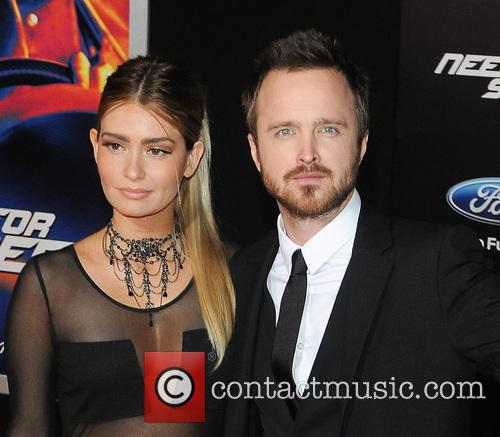 Jessica Lowndes and Aaron Paul 4