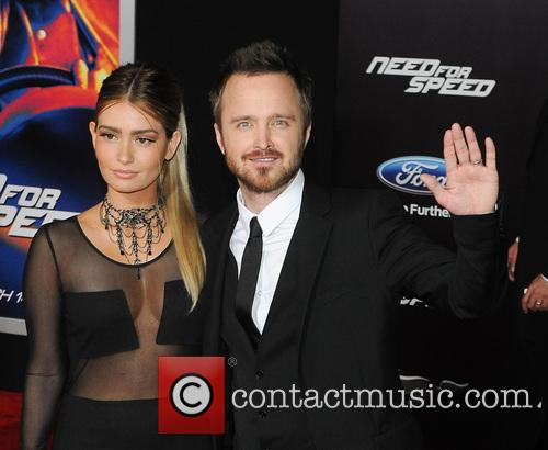 Jessica Lowndes and Aaron Paul 1