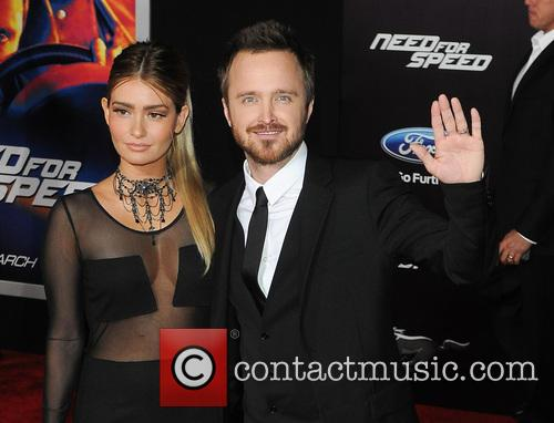 Jessica Lowndes and Aaron Paul 6