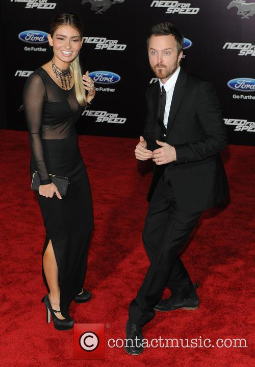 Jessica Lowndes and Aaron Paul 7