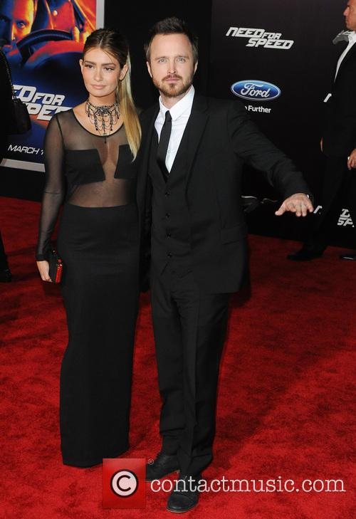Jessica Lowndes and Aaron Paul 9