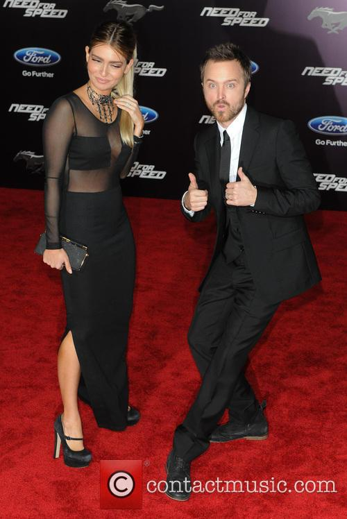 Jessica Lowndes and Aaron Paul 10