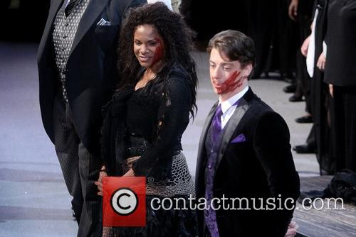 Audra Mcdonald and Christian Borle 5