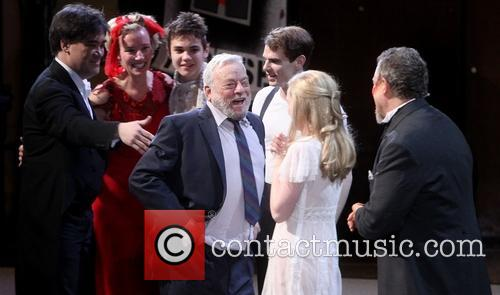 Stephen Sondheim and Cast 2