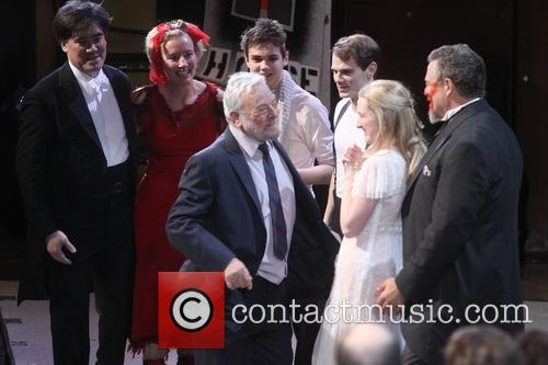 Stephen Sondheim and Cast 1