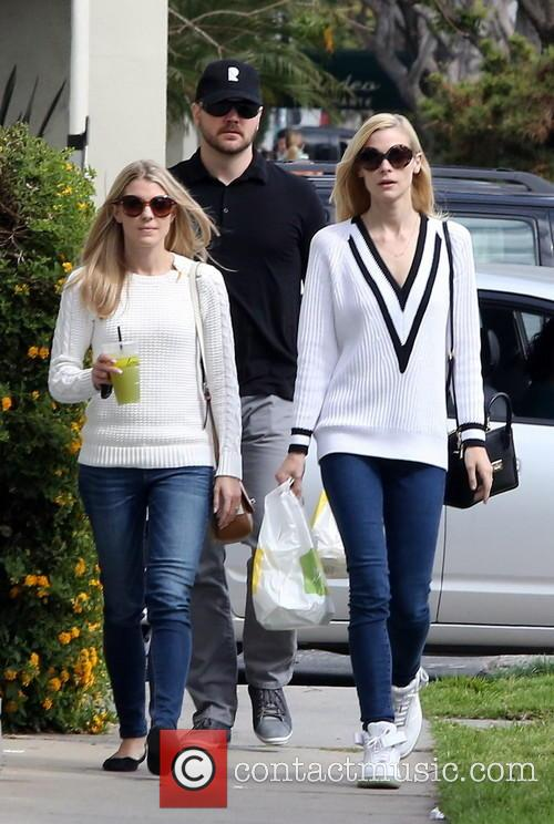 Jaime King leaving Lemonade restaurant after lunch