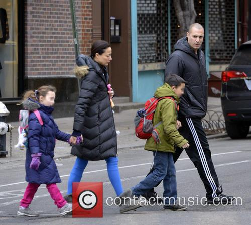 Nigel Barker and family out and about in...