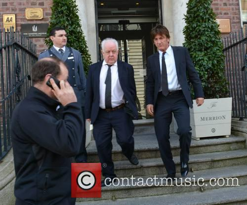 Jim Sheridan and Sean Penn 4