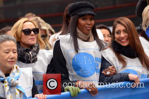 Kim Cattrall, Naomi Campbell and Muna Rihani Al Nasser 7