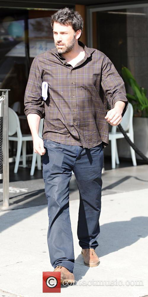 Ben Affleck and Matt Damon have lunch together