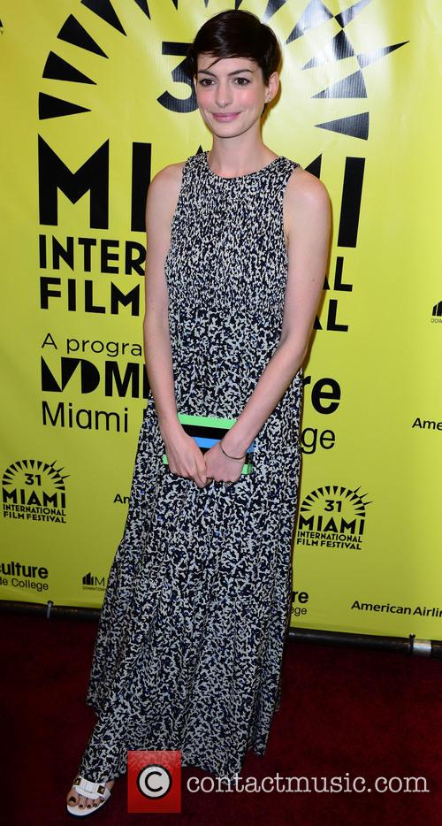 Anne Hathaway, Gusman Center for the Performing Arts, Miami International Film Festival