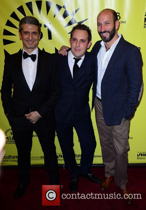 Jose Levy, Nicolas Veinberg, Ricardo Kleinbaum, Gusman Center for the Performing Arts, Miami International Film Festival