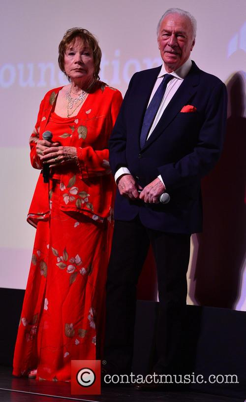 Shirley MacLaine, Christopher Plummer, Gusman Center for the Performing Arts, Miami International Film Festival