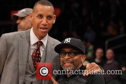 Spike Lee and Reggie Miller 5