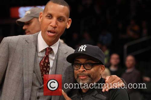 Spike Lee and Reggie Miller 11