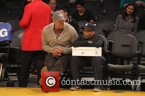 Spike Lee and Rick Fox 4