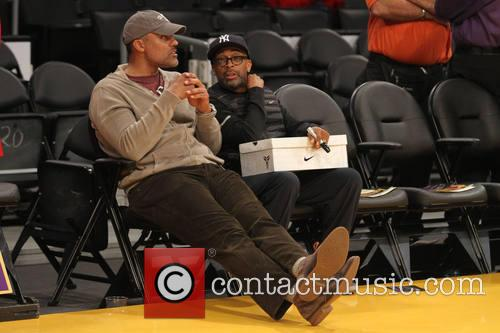 Spike Lee and Rick Fox 6
