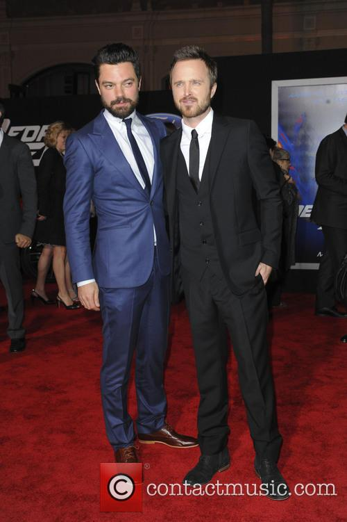 Dominic Cooper and Aaron Paul 5