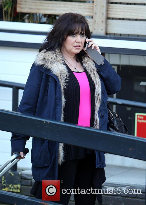 coleen nolan celebrities at the itv studios 4100907