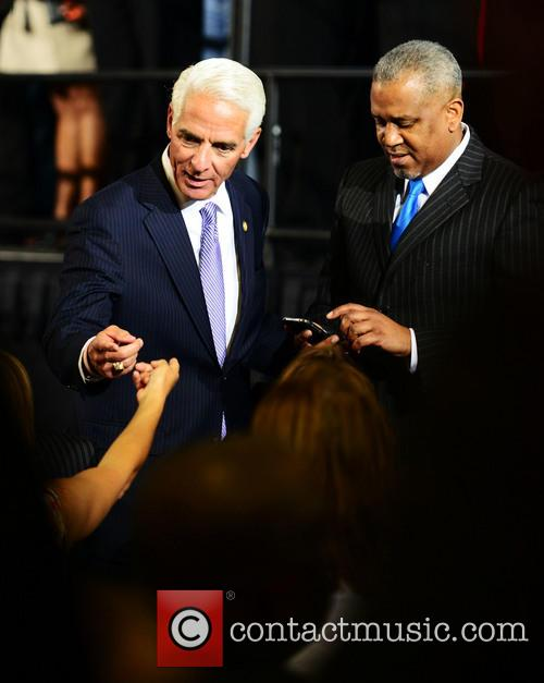 President Barack Obama and Charlie Crist 11