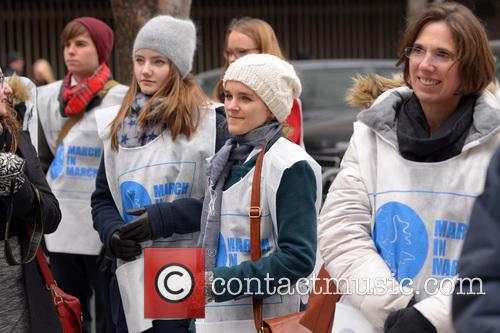 UN Women for Peace's 'March in March' rally