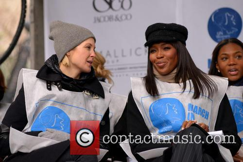 Kelly Rutherford and Naomi Campbell 1