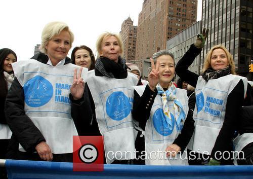 Cindy McCain, Trudie Tyler, Ban Soon Taek and Kim Cattrall 1