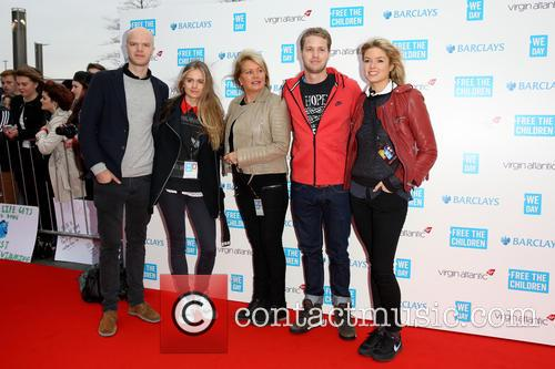 Cressida Bonas, Joan Templeman, Sam Branson and Holly Branson 5